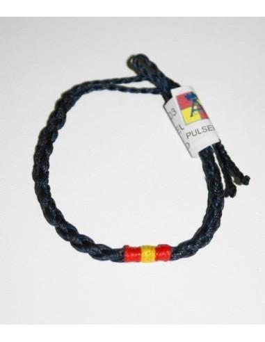 Fine Wire Spain flag bracelet Navy Blue