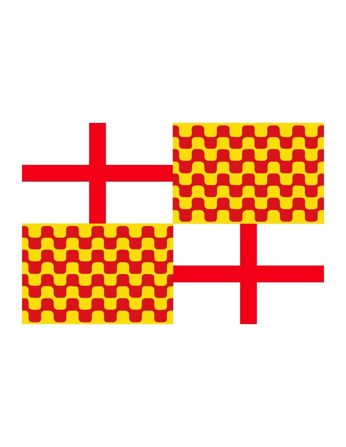 Bandera de Tabarnia 150x100cm Arenal de Sevilla d4fd344c184