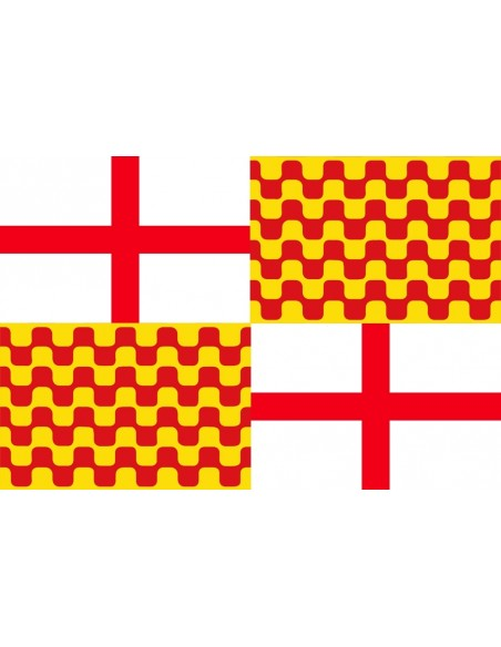 Bandera de Tabarnia 70 x 100 cm