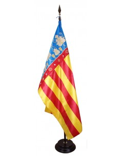 Valencia Embroidered Flag