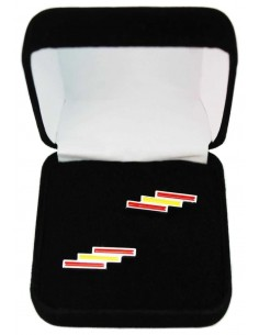 Cufflinks with the spanish flag