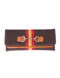 Clutch Bag - Brown