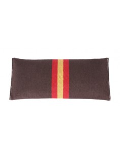 Spanish Flag Details Wristlet - Brown