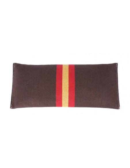 Cartera Bandera España de Mano Marrón