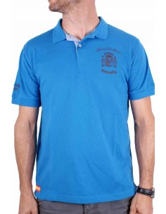 Polo Shirt Spain Shield - Royal
