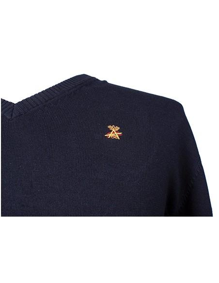 Jersey Pico-Azul Marino