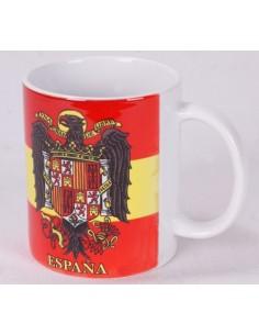 Taza Cerámica Águila San Juan