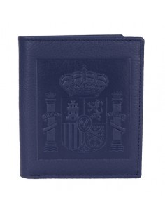 Spanish Emblem Wallet - Dark Blue