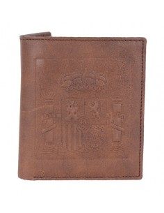 Spanish Emblem Wallet - Brown
