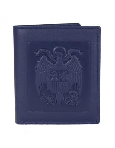 San Juan Eagle Wallet - Blue Leather