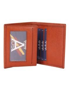 San Juan Eagle Wallet - Orange Leather