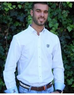 Camisa Hombre Sport Blanca