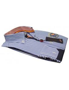 Camisa Rayas Premium Azulonas