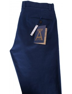 Casual Trousers - Navy Blue