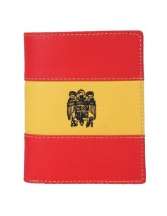 San Juan Eagle Wallet - Red and yellow