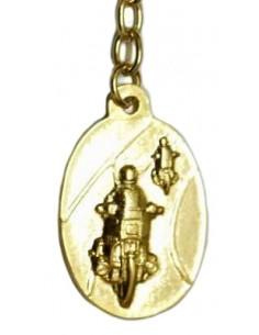 Spanish Traffic Civil Guard Key Ring