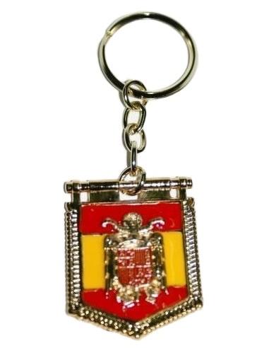 San Juan Eagle and Franco Key Ring