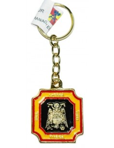 Keychain Franco and Eagle San Juan Enamel