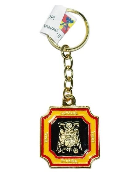 Keychain Franco and Eagle San Juan Enamel