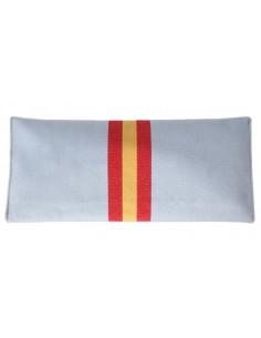 Cartera de Mano Celeste Bandera España