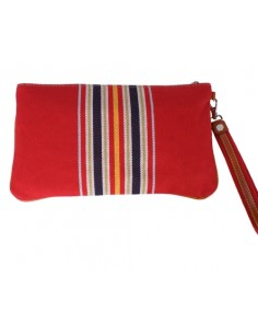 Spanish Flag Wristlet - Red
