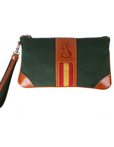 Spanish Flag Wristlet - Green