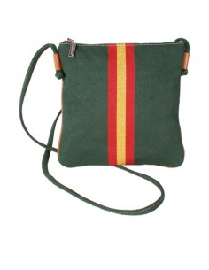 Spanish Flag Crossbody Bag - Green