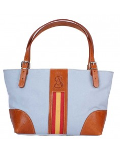 Spanish Flag Shopping Bag - Sky Blue
