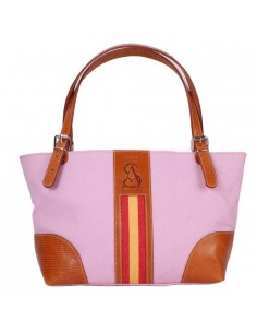 Spanish Flag Shopping Bag - Pink
