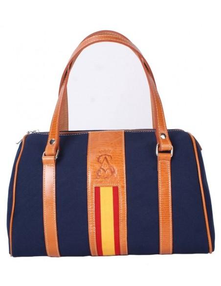Spanish Flag Handbag - Navy Blue