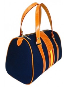 Spanish Flag Handbag - Navy Blue