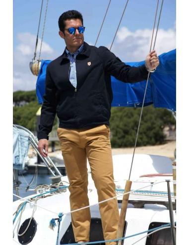 Cazadora de Hombre Sport Azul Marina