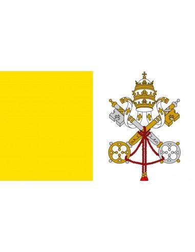 Bandera Pontifica o de la Ciudad del Vaticano
