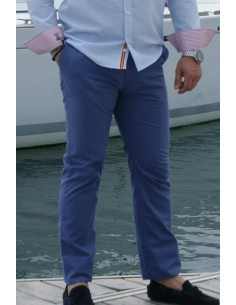 Casual Trousers - Blue
