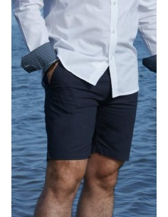 Casual Short Pants - Navy Blue