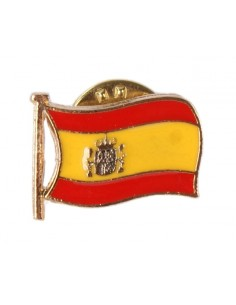Pin Solapa Bandera España Actual Esmaltado