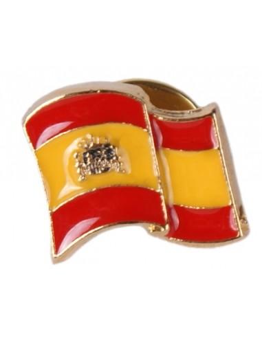 Pin Bandera España Ondeante Esmaltado