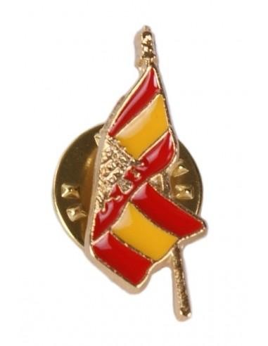 San Juan Eagle Spanish Flag Pin