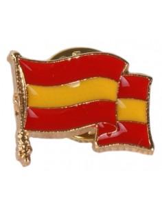 Pin Bandera España Esmaltado Ondeante