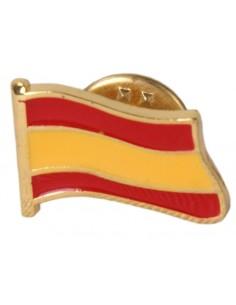 Pin Bandera España Sin Escudo Esmaltado
