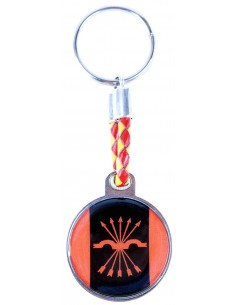 Spanish Falange Rounded Key Ring