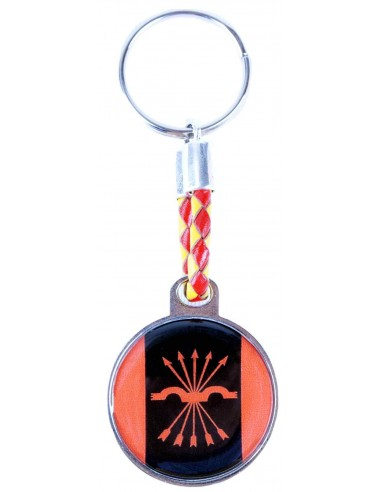 Spanish Falange Rounded Key Ring
