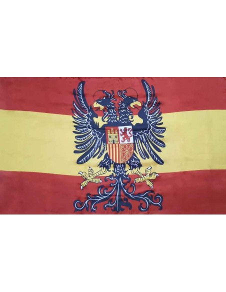 Two-headed Eagle And Celtic Cross Flag