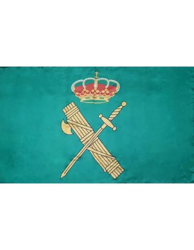 Civil guard's pennant as a centrepiece