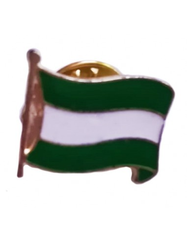 Andalusian Glazed Flag Pin