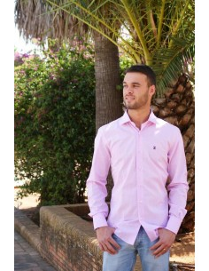 Thinly Checked Shirt - Pink