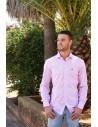 Camisa Cuadros - Rosa