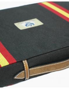 Almohadilla Bandera España - Marrón