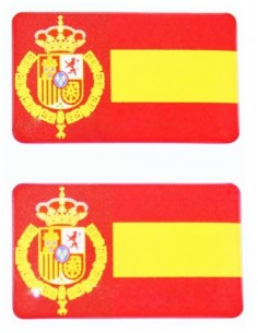 Felipe VI Spanish Flag Stickers