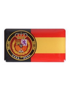 Spanish Royal House Flag Sticker
